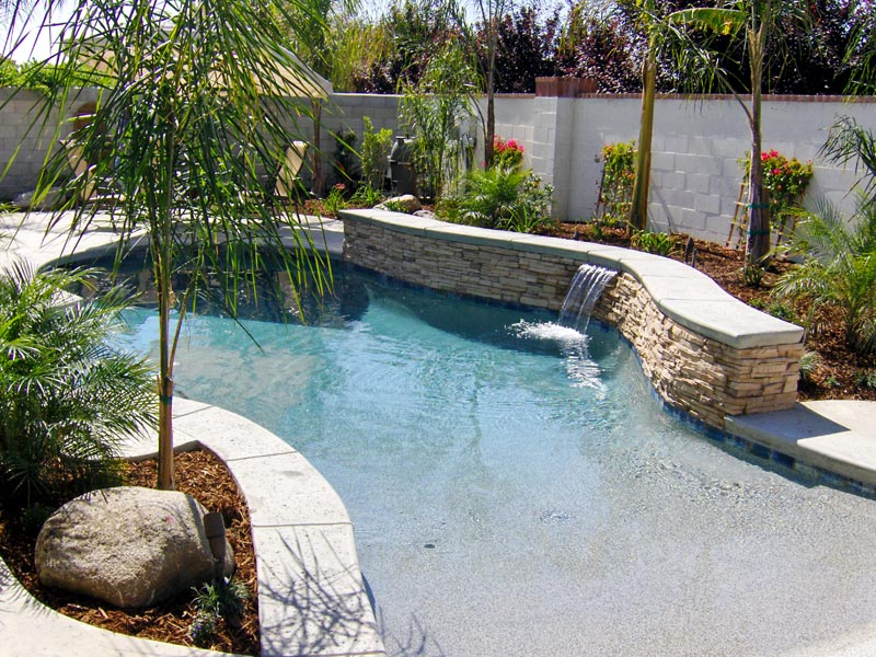 Greecian Pools Bakersfield CA WalkIn Beach Entry Pools