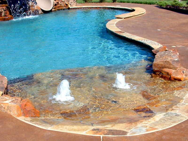 Walk In Beach Entry Pool
