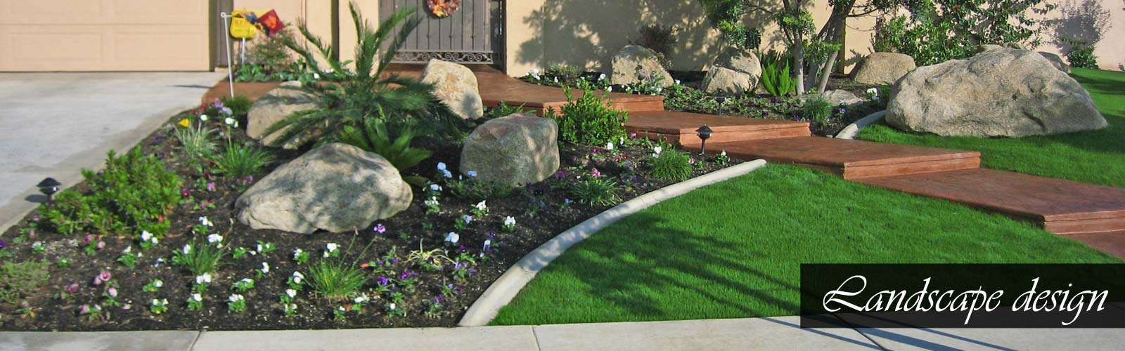Bakersfield Landscape design experts